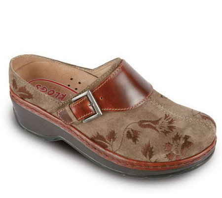 Klogs Leather Closed Back Clogs - Austin