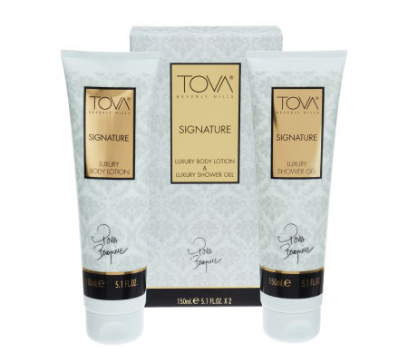 TOVA Signature Shower Gel and Lotion Duo