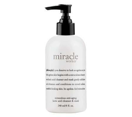 philosophy miracle worker 8 oz anti-aging lactic acid