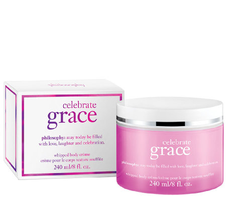 philosophy celebrate grace whipped body creme