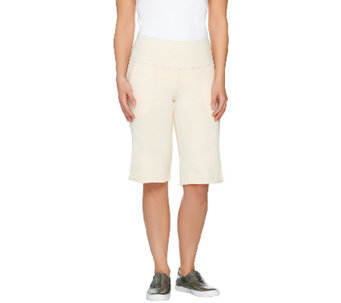 Women with Control Petite Tummy Control Bermuda Shorts - A264341