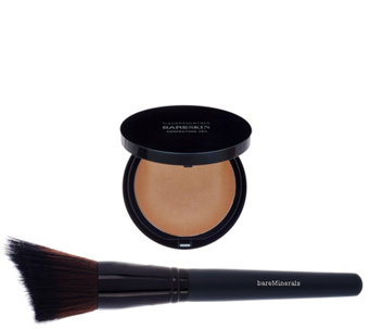 bareMinerals bareSkin Bronzing Perfecting Veil & Brush Duo - A274041