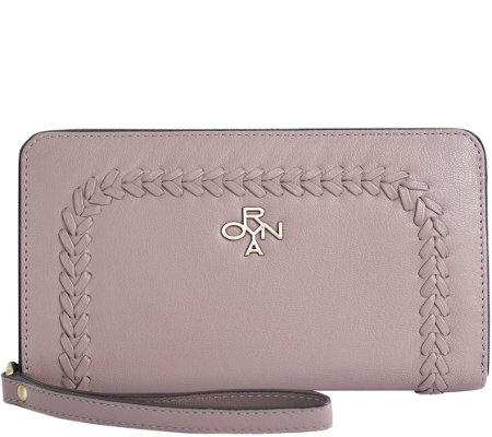 orYANY Pebbled Leather Wallet - Tyra