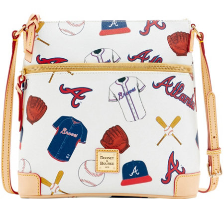 Dooney & Bourke MLB Braves Crossbody