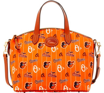 Dooney & Bourke MLB Nylon Orioles Small Satchel - A281741