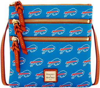 Dooney & Bourke NFL Bills Triple Zip Crossbody - A285641