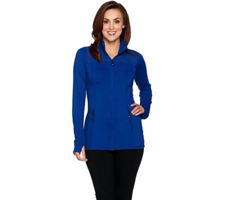 cee bee CHERYL BURKE Performance Jacket with Mesh Detail