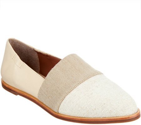 ED Ellen DeGeneres Fabric and Leather Flats - Karlin
