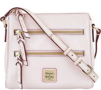 Dooney & Bourke Patent Leather Peyton Triple Zip Crossbody - A292941