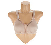 Breezies Soft Shimmer Seamless Front Close Wirefree Bra - A294541