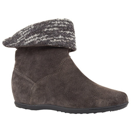 Cougar Waterproof Pull-On Ankle Boots - Fiddler