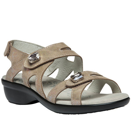 Propet Leather Sandals - Cheryl