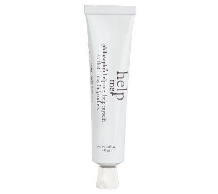 philosophy help me nighttime treatment 1.05 oz.