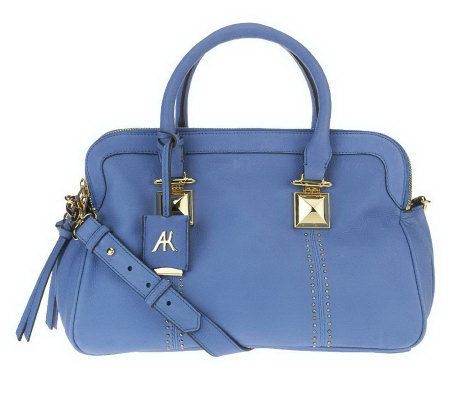 Aimee Kestenberg Pebble Leather Dakota Satchel