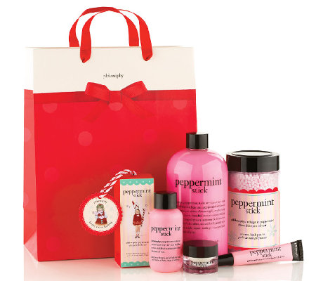 philosophy 5-piece peppermint stick collection