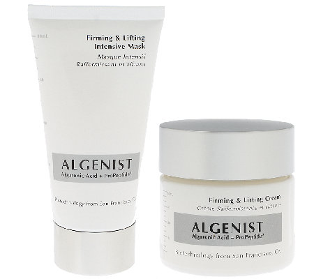 Algenist Firming Cream and Firming Intensive Mask Duo