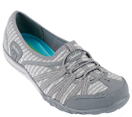 Skechers Mesh Relaxed Fit Slip-on Sneakers - Dimension
