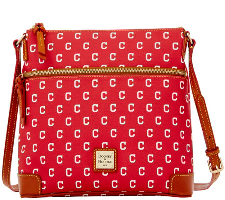 Dooney & Bourke MLB Indians Crossbody