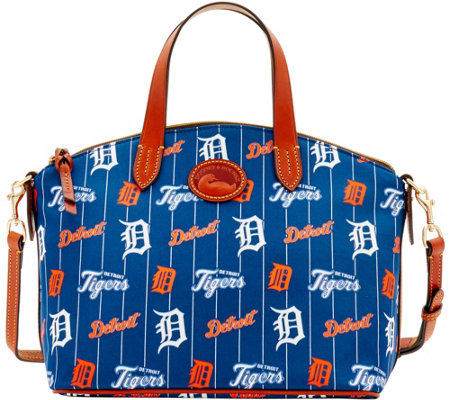 Dooney & Bourke MLB Nylon Tigers Small Satchel