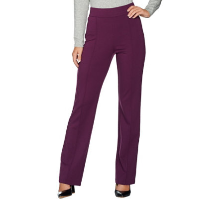C. Wonder Petite Boot Cut Pull-On Ponte Knit Pants