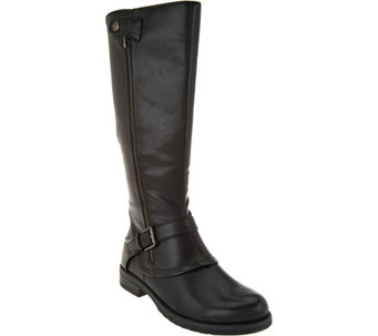 BareTraps Tall Shaft Boots with Buckle Detail - Caissy - A285542