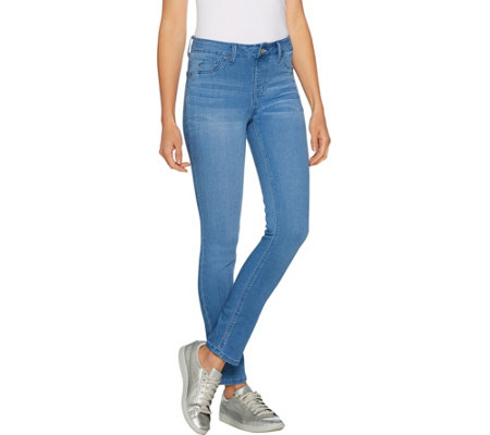 Laurie Felt Regular Silky Denim Slim Pull-On Jeans