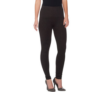 """As Is"" Spanx Seamless Printed Leggings - A292842"