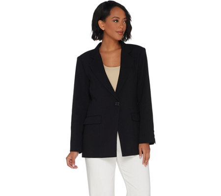 Linea by Louis Dell'Olio One Button Blazer
