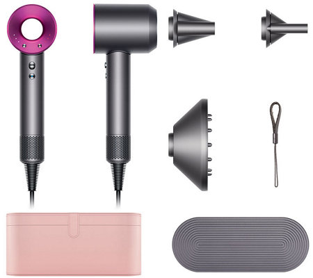 Dyson supersonic hair dryer w case 3 attachments page for Dyson hair dryer motor