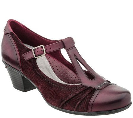 Earth Leather T Strap Mary Janes - Wanderlust