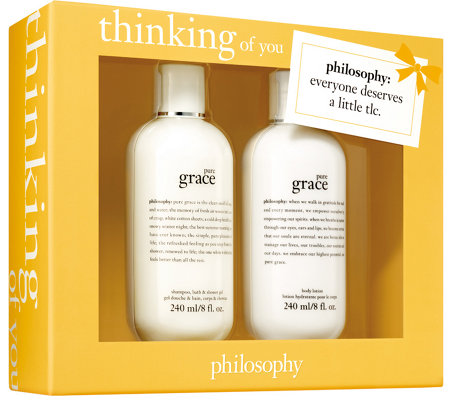 philosophy care package gift box