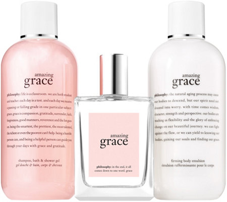 philosophy amazing grace set