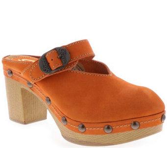 78e983d891a Sbicca Leather Buckle Clogs - Jelina - A414242