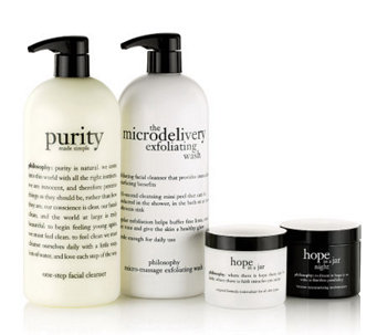 philosophy super-size 4-piece am/pm skincare collection - A238243