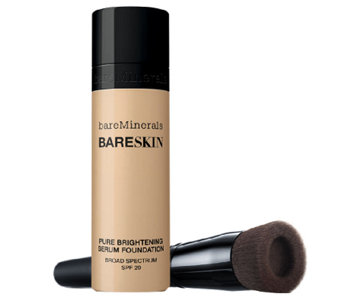 bareMinerals bareSkin Serum Foundation SPF 20 w/ Brush - A256043