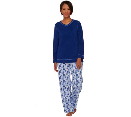 Stan Herman Novelty Micro Fleece Pajama Set