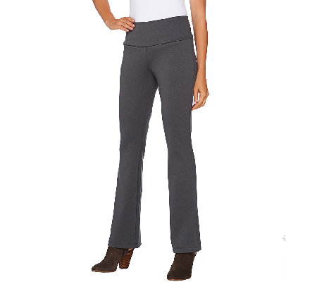 Women with Control Regular Ponte di Roma Low Bell Pants