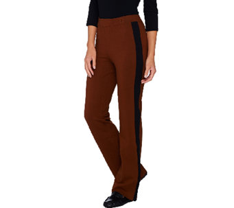 Linea Leisure by Louis Dell'Olio Boot Cut Pull-on Knit Pants - A268243