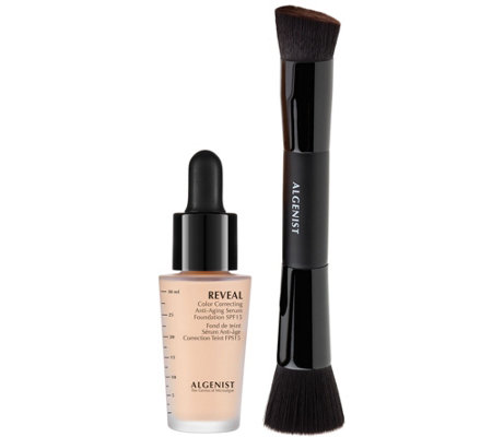 Algenist REVEAL Serum Foundation SPF 15 with Brush