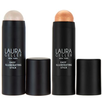 Laura Geller Easy Illuminating Chubby Stick Duo