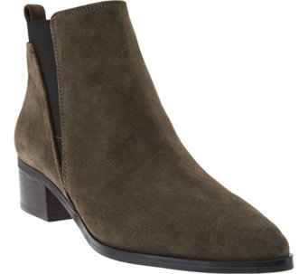 Marc Fisher Suede Chelsea Ankle Boots - Ignite - A281343