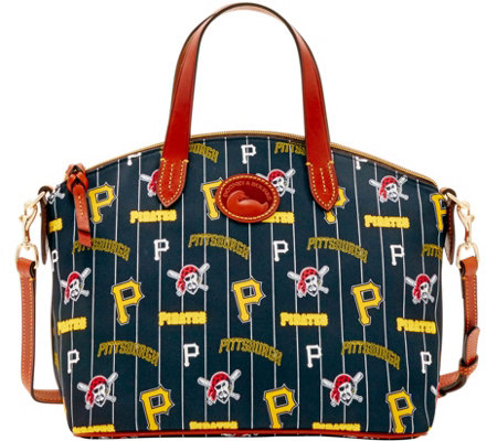Dooney & Bourke MLB Nylon Pirates Small Satchel