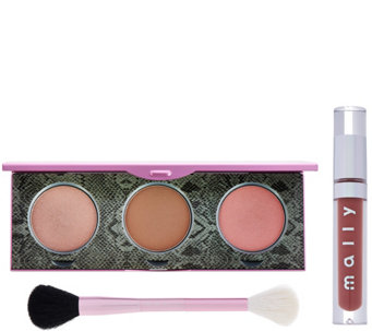 Mally's Signature Glow Face & Lip 3-piece Collection - A281943