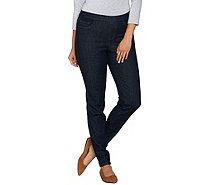 Qvc denim and company jeggings