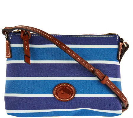 """As Is"" Dooney & Bourke Eastham Nylon Crossbody Pouchette"