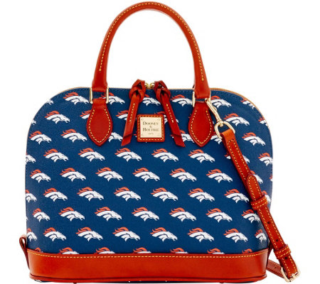 Dooney & Bourke NFL Broncos Zip Zip Satchel
