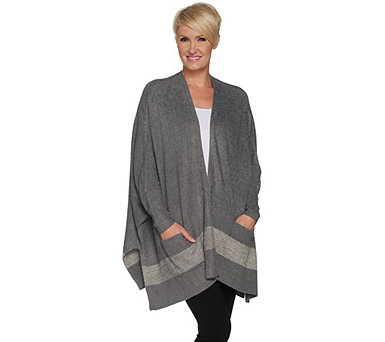 Barefoot Dreams Cozychic Lite Cliffside Wrap - A293843