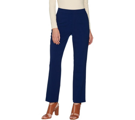 Susan Graver Regular Chelsea Stretch Pull-On Pants