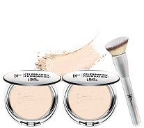 IT Cosmetics Supersize SPF50 Celebration Foundation with Luxe Brush - A308543