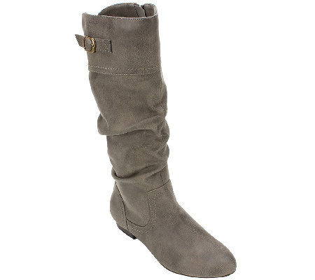 Cliffs by White Mountain Tall Slouch Boots- Fox